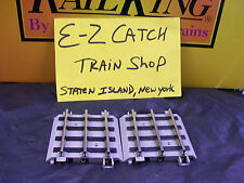 """Lionel Corp. MTH Standard Gauge 3.5"""" Nickel Silver Straights w/ Roadbed Two Pack"""