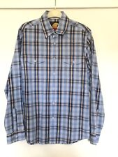 Soulcal & Co. blue checkered shirt in size S -NEW