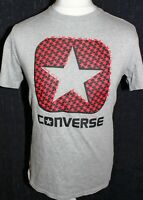 CONVERSE  Mens Grey T Shirt Size Medium