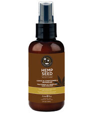 LEAVE IN HAIR CONDITIONER & DETANGLER SPRAY BY EARTHLY BODY HEMP SEED