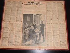 calendrier - almanach 1919 un fait divers interessant ( ref 5 )