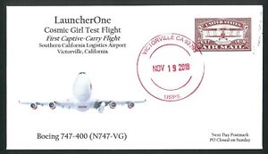 LauncherOne Cosmic Girl Test Flight Cover