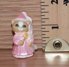 Hallmark (Qfm 8305) 1993 Merry Miniatures Princess Cat Figurine Only *Read*