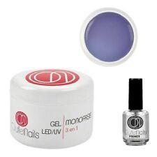 GEL 3 IN 1 UV MONOFASE 50ML NAIL ART MONOFASICO RICOSTRUZIONE UNGHIE PRIMER TOP