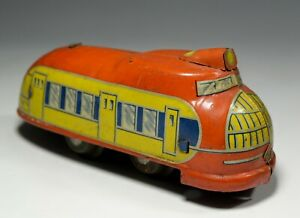 Pre War Japan Streamlined Train Toy Tin Futuristic C/W Union Pacific 1930
