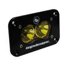 Baja Designs ATV S2 Sport LED Work Scene Light Amber Flush Mount