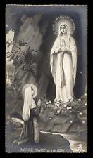 "santino-holy card ""ediz.NB n.251 MADONNA DI LOURDES"