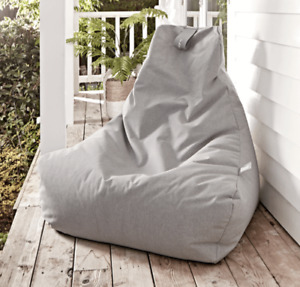 Cox & Cox Indoor/Outdoor Soft Grey Beanbag - RRP £200