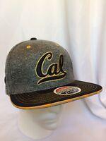 Cal Bears California NCAA Snapback Hat Cap Gray Zephyr New