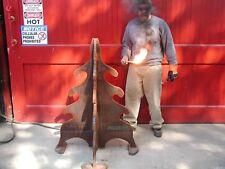 """Iron Art Tree Parking Traffic Control Bollard 480 lbs. 1"""" plate by Blacksmits"""