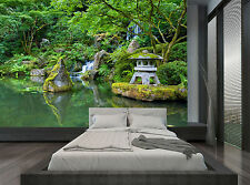 Waterfall Water Trees Forest Plant Wall Mural Photo Wallpaper GIANT WALL DECOR