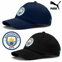 PUMA Official Manchester City Football Club MCFC Men's Baseball Caps