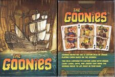 Goonies Movie Playing Cards Poker Size Deck Custom Limited Edition New Sealed