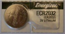 Energizer Battery # ECR2032 replaces CR2032 and L14. Fits Many Car Remotes