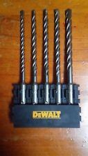 DeWalt SDS + Plus Extreme Masonry Drill Bit Set: 5, 6, 6.5, 7, 8 mm without case