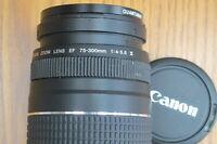 Canon EF 75-300mm 1:4-5.6 III AF Zoom Lens for Canon DSLR Camera