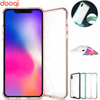 For iPhone X/XS/XR/XS Max/7 8 Plus Hybrid Soft TPU Shockproof Bumper Clear Case