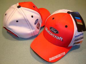 Matt DiBenedetto 2020 MOTORCRAFT #21 CFS Adj.Uniform Hat NEW W/tags IN STOCK