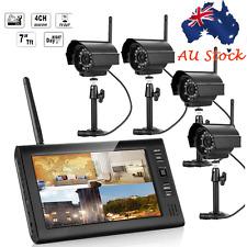 SY602E14 4CH 2.4G CCTV Quad DVR IP Wireless Security Camera System Night Vision