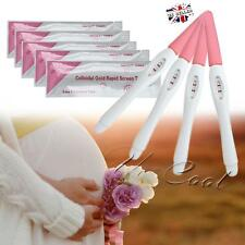 5 Pcs Home Private Early Pregnancy HCG Urine Midstream Test Strips Stick Kit
