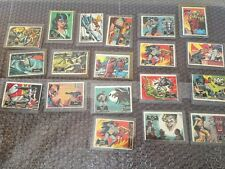 1966 Batman   Trading Cards 19 Cards Total Look In Plastic Sleeves