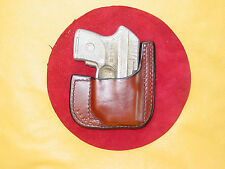 Ruger LCP .380 Crimson Trace********pocket holster********* brown leather