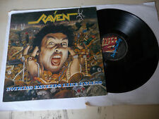 """RAVEN """"NOTHING EXCEEDS LIKE EXCESS-disco 33 giri FLAG UK  1988"""" PERFECT"""