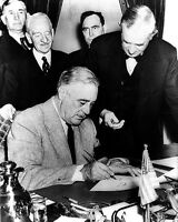New 8x10 World War II Photo: Franklin D. Roosevelt Declares War on Germany