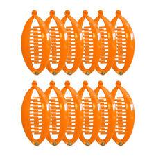Banana Hair Combs 5 Inch Pumpkin Banana Hair Clips Girls Hair Accessories 2