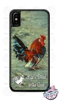 Rooster Hahn in the Coop Bird Design Phone Case Cover for iPhone Samsung LG etc