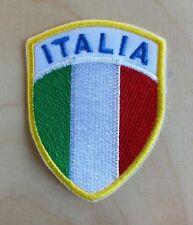 Patch Toppa Stemma Ricamato Scudetto Italia cm 5x6,5 cm.