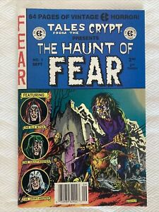 EC Reprint Tales From The Crypt Presents The Haunt Of FEAR #1 - VF/NM Condition!