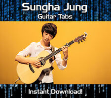 SUNGHA JUNG ROCK GUITAR TAB TABLATURE DOWNLOAD SONG BOOK SOFTWARE TUITION