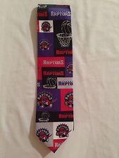 New NWT Toronto Raptors NBA Licensed Men's Tie Basketball Ralph Marlin