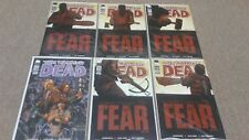 The Walking Dead Lot (6) #97 98 99 100 101 102 Something To Fear Kirkman Comic