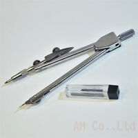 School Metal Delicate Pencil Math paint Bow Compass Drawing divider Tools