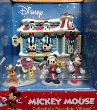 2003 MICKEY'S TOY SHOP, DISNEY MICKEY MOUSE COLLECTIBLE PORCELAIN VILLAGE, NEW