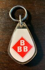 Vintage BBB Tobacco Smoking Pipes Key Chain