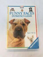 Ravensburger Funny Faces Animal Domino Game 1997 Vintage Preschool Homeschool