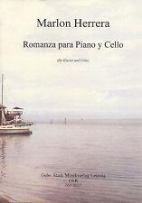 00317 Noten, Romanza Cello und Klavier, Lateinamerika
