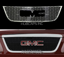 2007-12 GMC Acadia SLE SLT CHROME Snap On Grille Overlay Insert Front Trim Cover