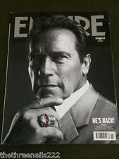 EMPIRE SUBSCRIBER COVER #281 -  Schwarzenegger - NOV 2012