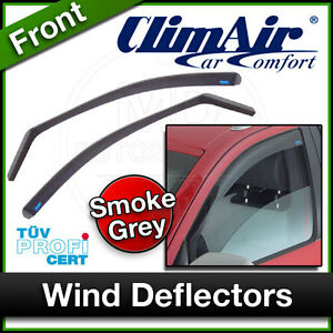 CLIMAIR Car Wind Deflectors FIAT SEICENTO 1998 to 2007 FRONT