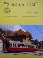 Bollettino treni FIMF n°179 Modellismo in H0 della 2033 FS (Ex 3183 R.A) [TR.33]