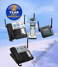 AT&T SynJ® SB67138 DECT 6.0 4-LINE CORDED PHONE 1 CORDLESS 1 DESKSET 1 REPEATER