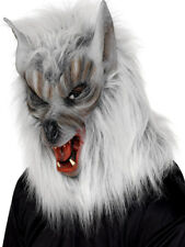 WEREWOLF MASK MENS LADIES HALLOWEEN FANCY DRESS ACCESSORY WOLFS MASK