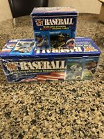1987 Sealed Fleer Glossy Tin Set AND Sealed Glossy Update Set! BONDS, BO & MORE!