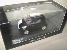 1:43 Toyota IQ Geneva Car Show 2009 white/black 400166801 L.E MINICHAMPS new OVP