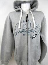 Philadelphia Eagles Mens X-Large Screened Full Zip Hooded Sweatshirt AEAG 192