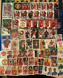 Topps Panini Merlin Manchester United Lot x 70 Cards And Stickers Rare